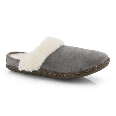 Pantoufle Nakiska Slide II, gris, fem.