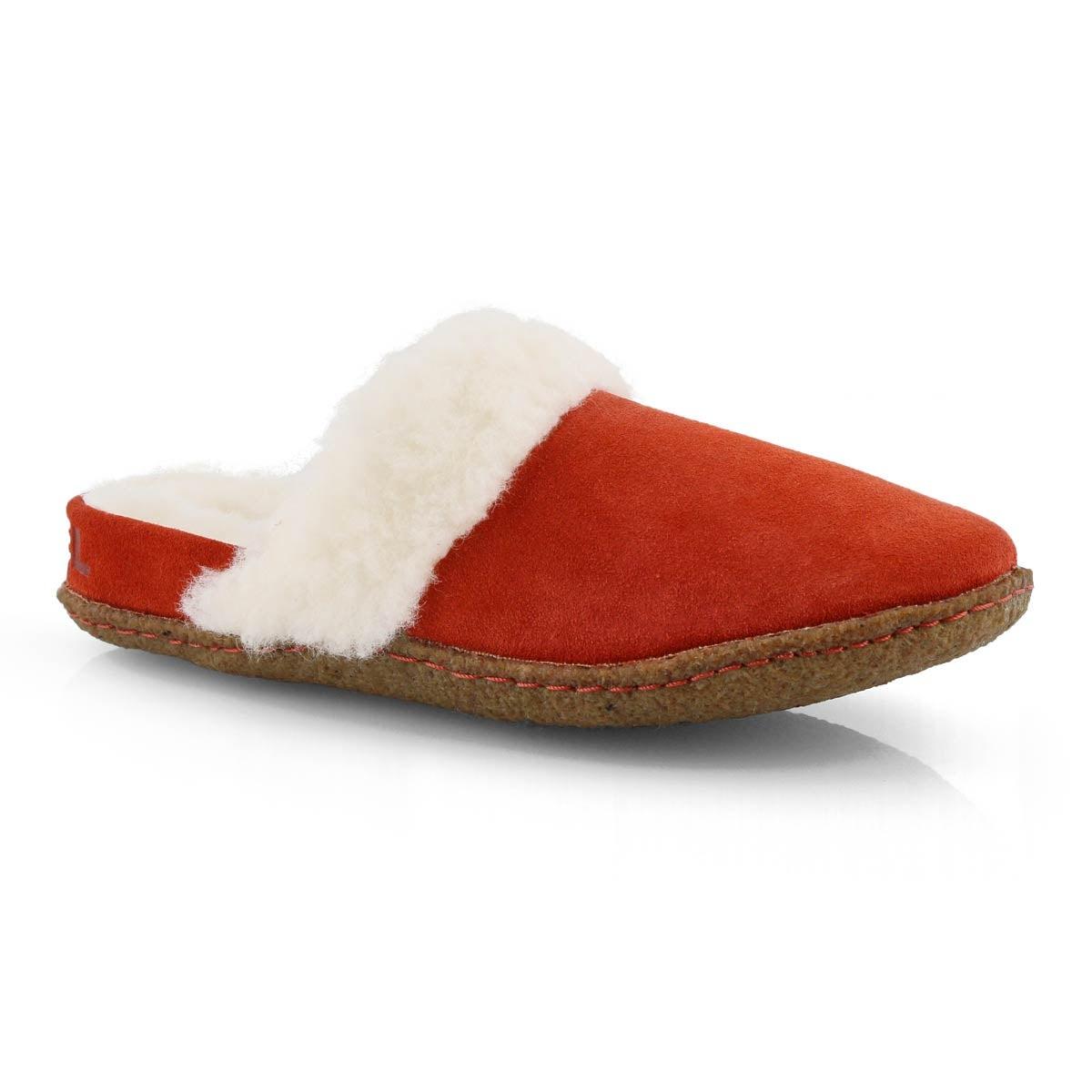 Women's NAKISKA SLIDE II carnelian red slippers