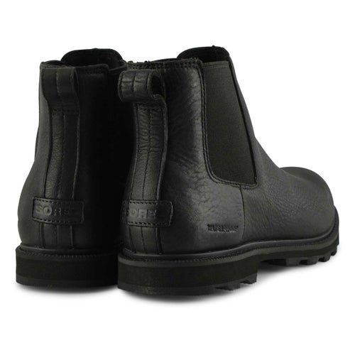 Mns Madson II Chelsea black ankle boot