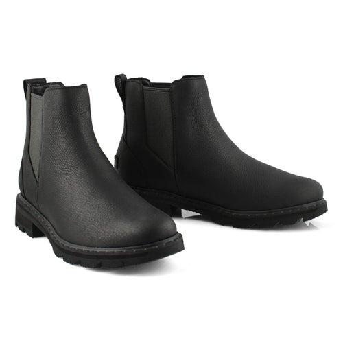 Lds Lennox Chelsea black wtpf boot