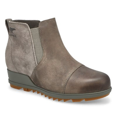 Lds Evie Pull-On Wateproof Boot- Quarry