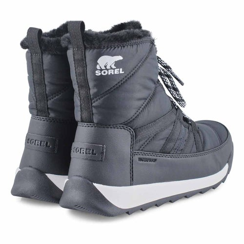 Lds Whitney II Short blk wp winter boot