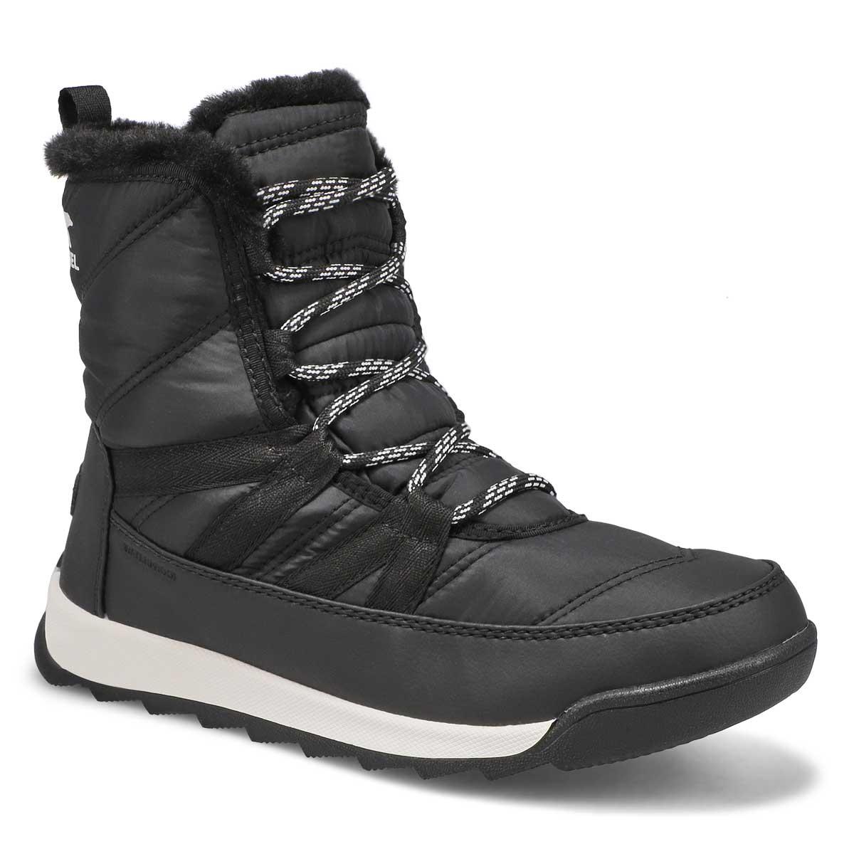 Lds Whitney II Short blk wp winter boot