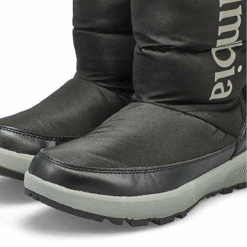 Lds Paninaro Tall blk wtpf winter boot
