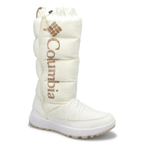Lds Paninaro Tall wht wtpf winter boot