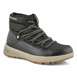 Lds Slopeside Village Mid blk snow boot