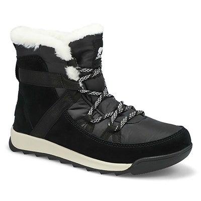 Lds Whitney II Flurry Wtpf Wntr Boot-Blk