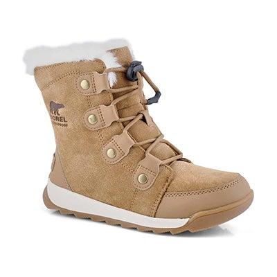 Grls Whitney II Suede elk wtp snow boot