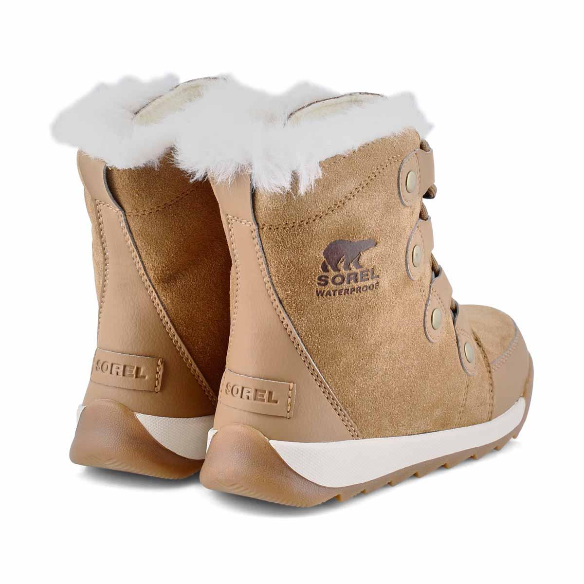 Bottes de neige WHITNEY II, suède, élan, filles