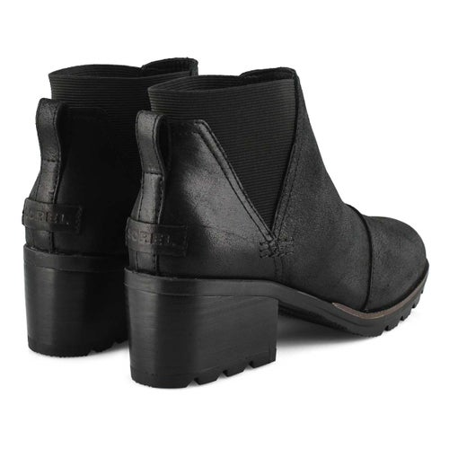 Lds Cate Chelsea black wtpf boot