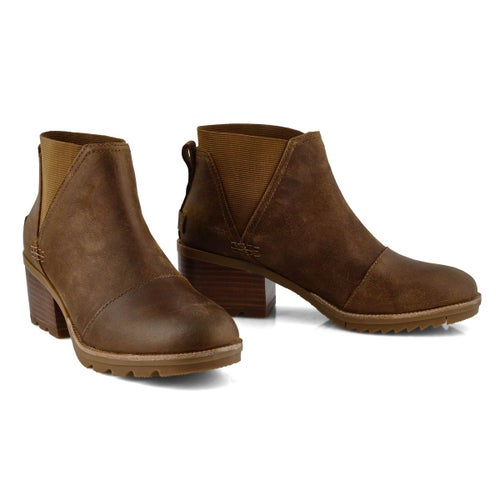 Lds Cate Chelsea tan wtpf boot
