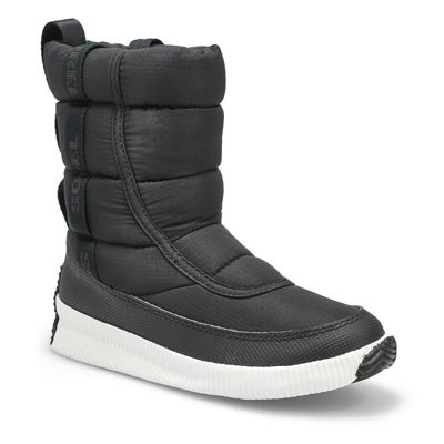 Lds Out N About Plus black winter boot