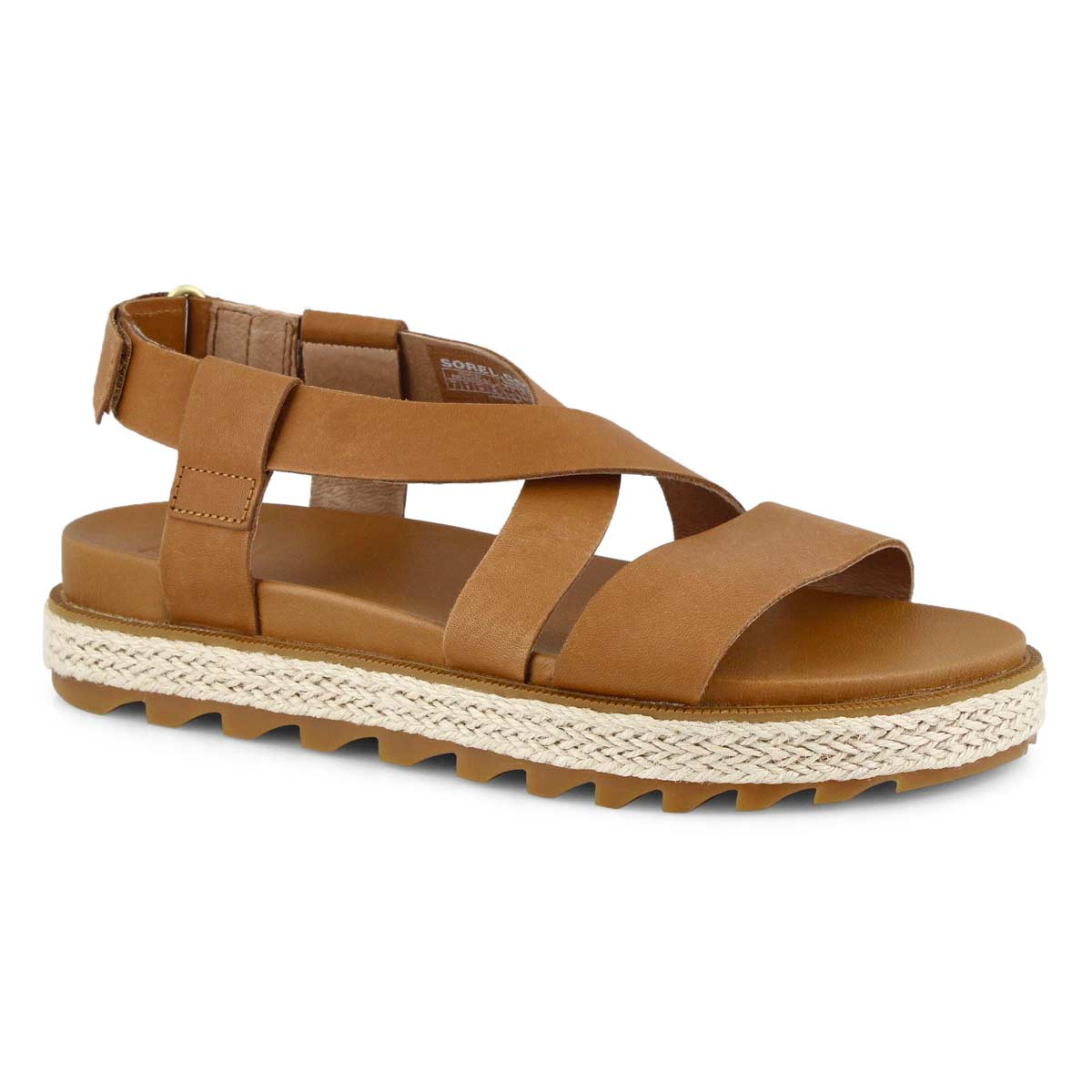 Sandales ROAMING CRISS-CROSS JUTE, femmes