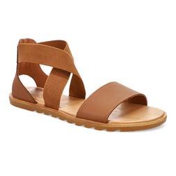 Lds Ella II velvet tan casual sandal