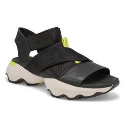 Lds Kinetic Impact black casual sandal