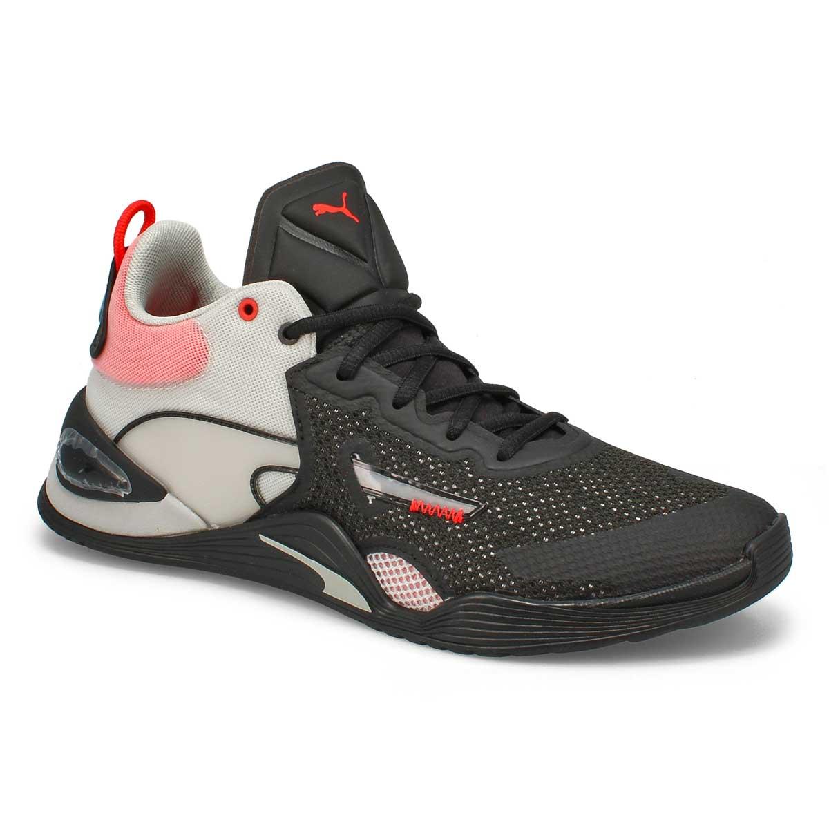 Men's Fuse Sneaker - Black/ Poppy Red /Grey