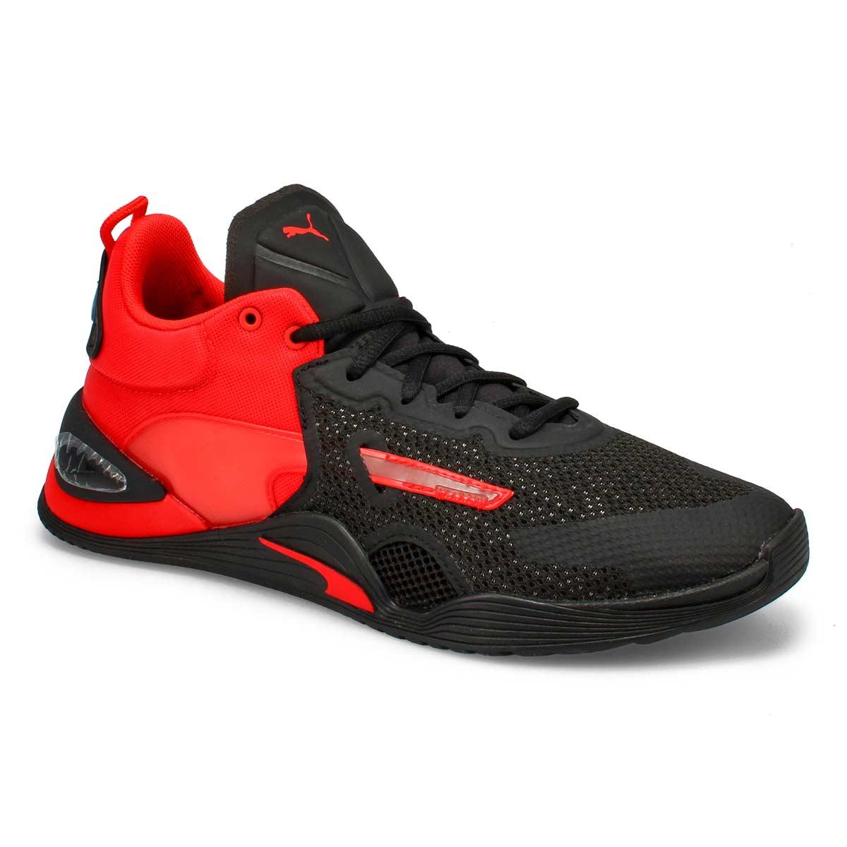 Men's Fuse Sneaker - Poppy red/black