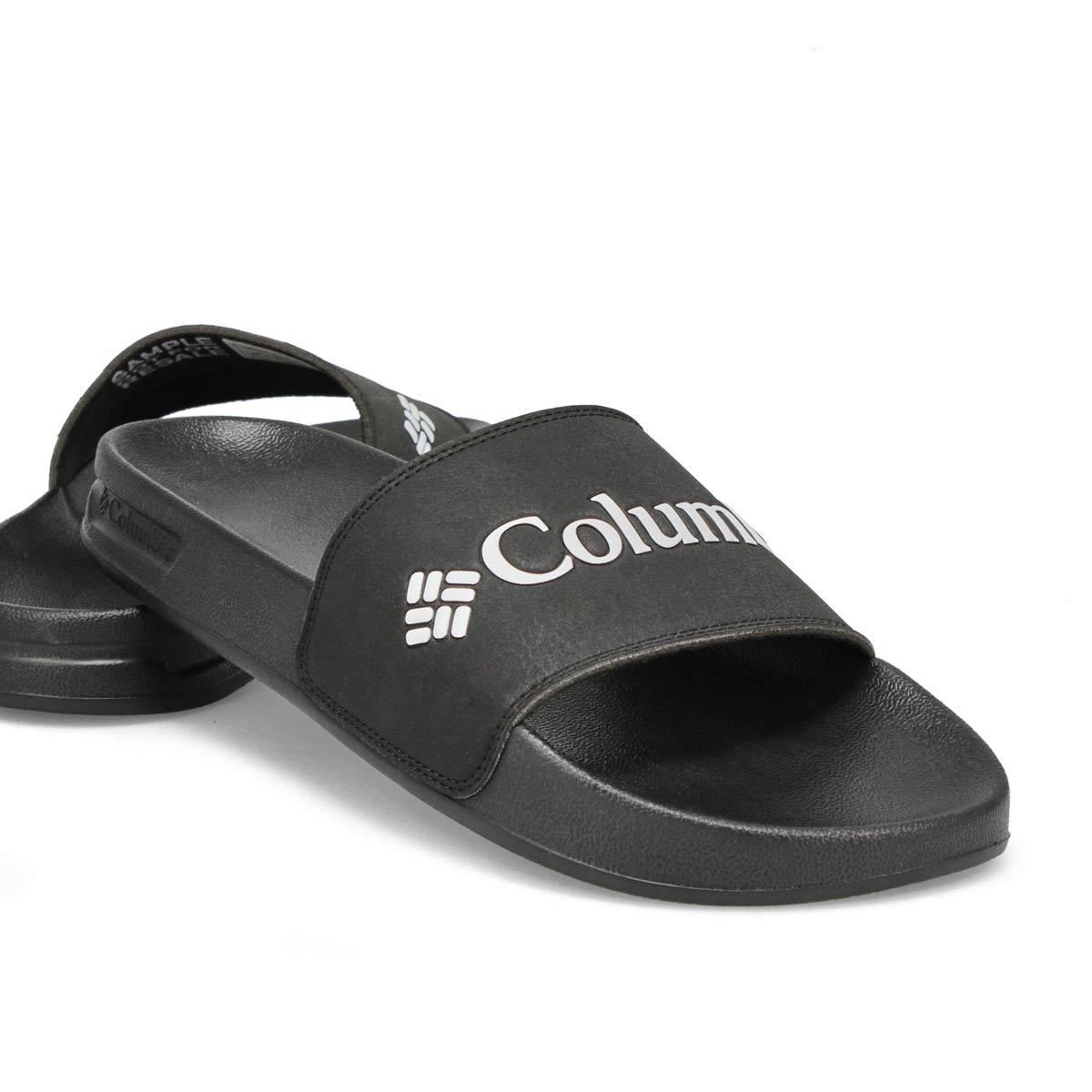 Men's Hood River Slide Sandal - Black/White