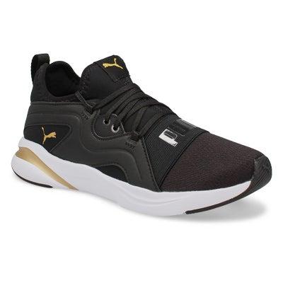 Lds Softride Rift Breeze blk/gld sneaker