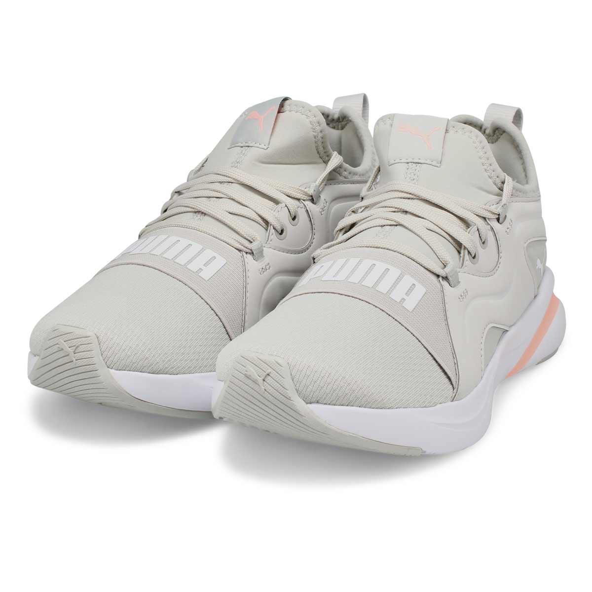 Women's Softride Rift Breeze Sneaker - Grey/Peach