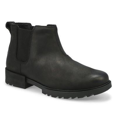 Lds Emelie II Chelsea Wtpf Boot- Black