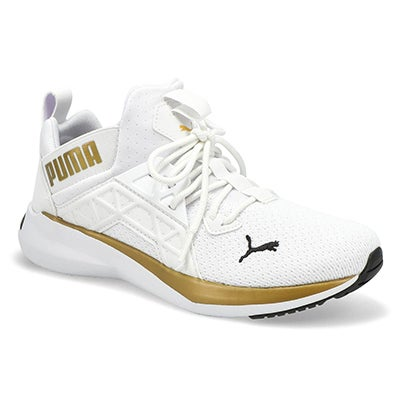 Lds Softride Enzo NXT Shine Snkr-Wht/Gld