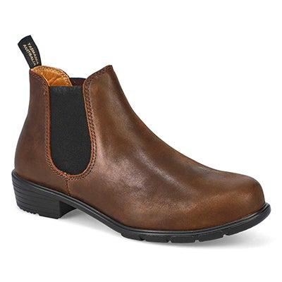 Lds The Ankle brown pull on boot