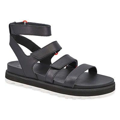 Lds Roaming Multi Strap black sandal