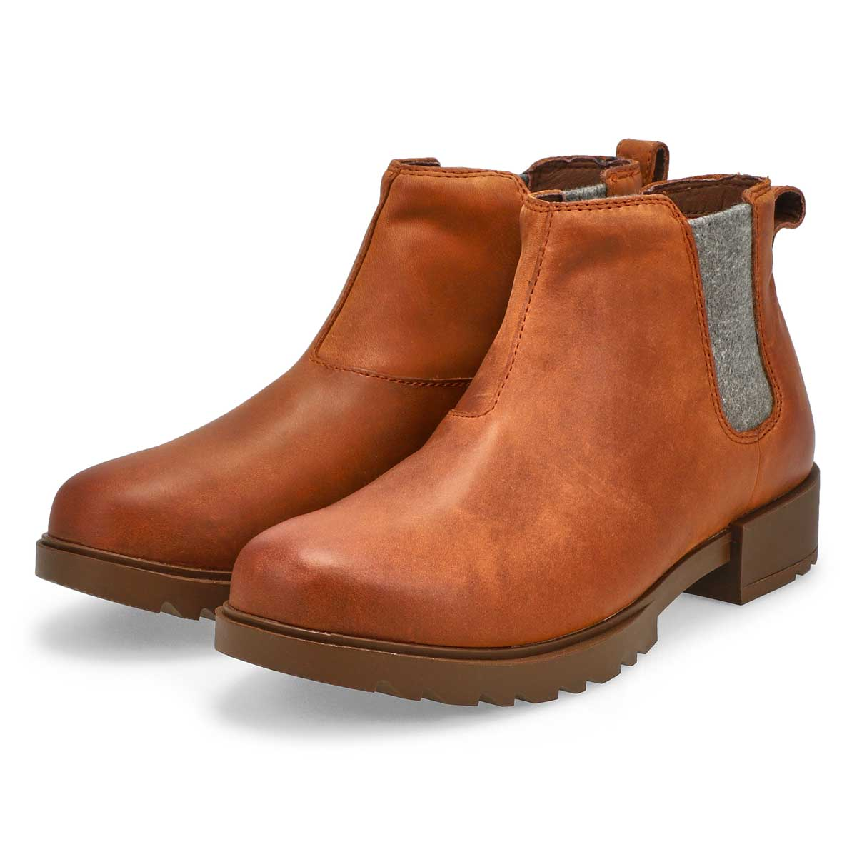 Women's Emelie II Chelsea Waterproof Boot - Amber