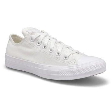 Women's CT ALL STAR OX white mono sneakers