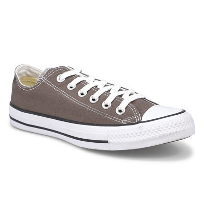 Converse Women's CHUCK TAYLOR CORE OX charcoal sneakers
