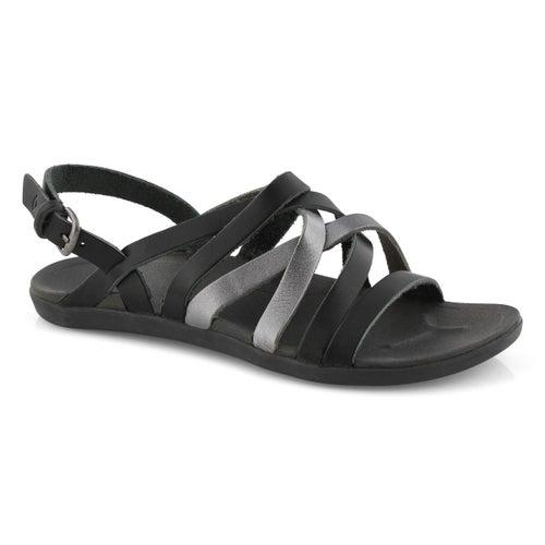 Lds 'Awe'Awe shadow/pwtr casual sandal