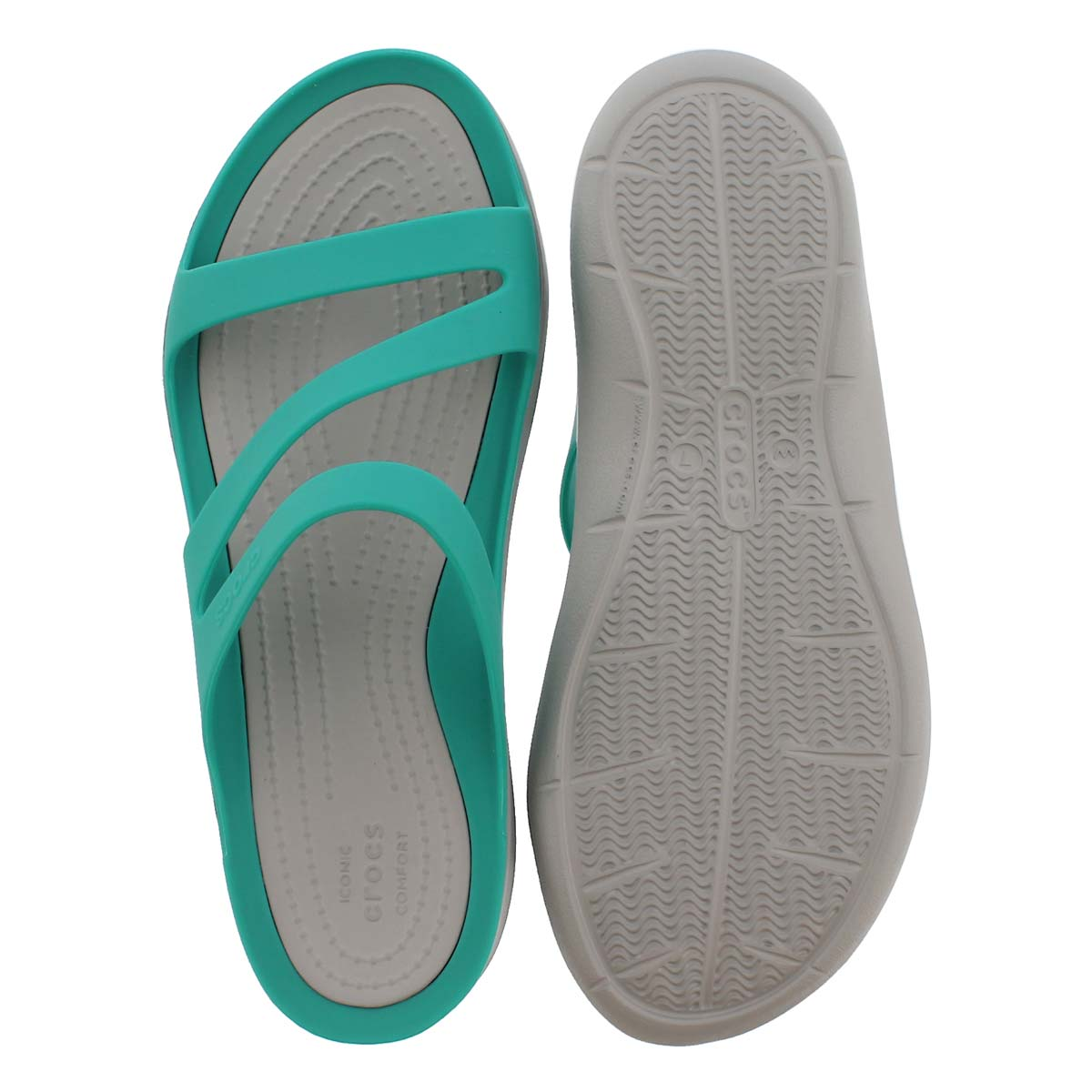 Women's SWIFTWATER tropical teal/grey sandals