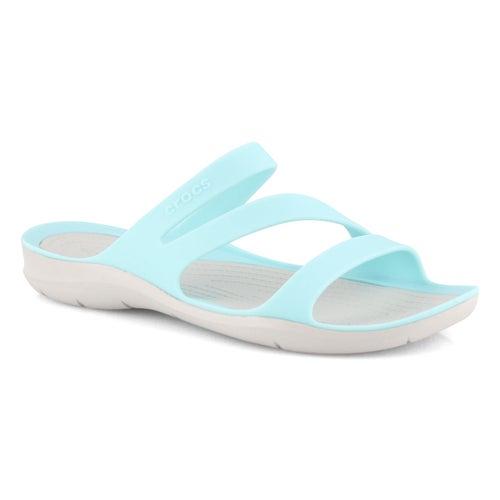 Lds Swiftwater ice blu/prl wht sandal
