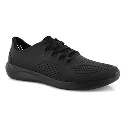 Mns LideRide Pacer blk/blk lace up snkr
