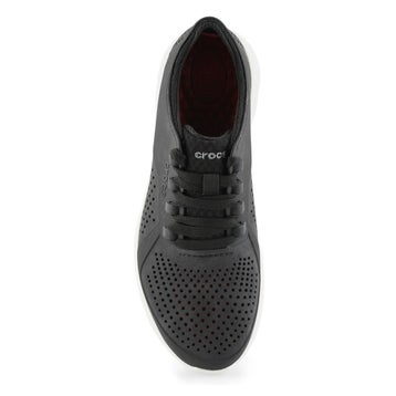 Men's LITERIDE PACER black/white lace up sneaker