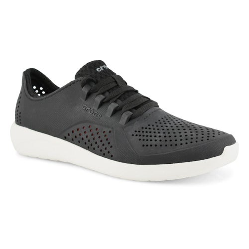 Mns LideRide Pacer blk/wht lace up snkr