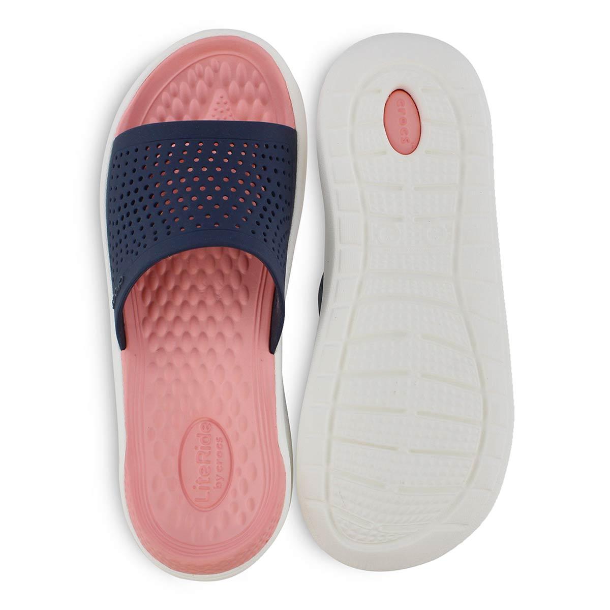 Sandale LITERIDE SLIDE,bl mrn/melon,fem
