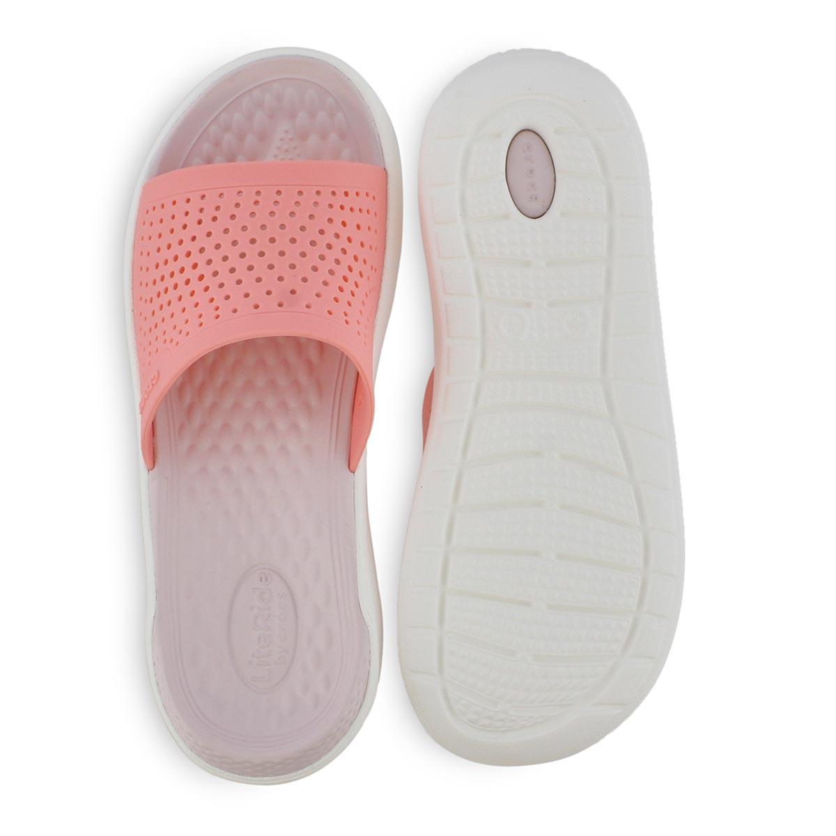 Sandales à enfiler LITE RIDE, melon/blanc, femmes