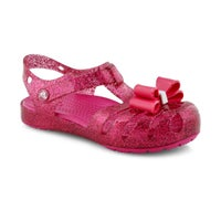 Sandales ISABELLA BOW, rose bonbon, filles