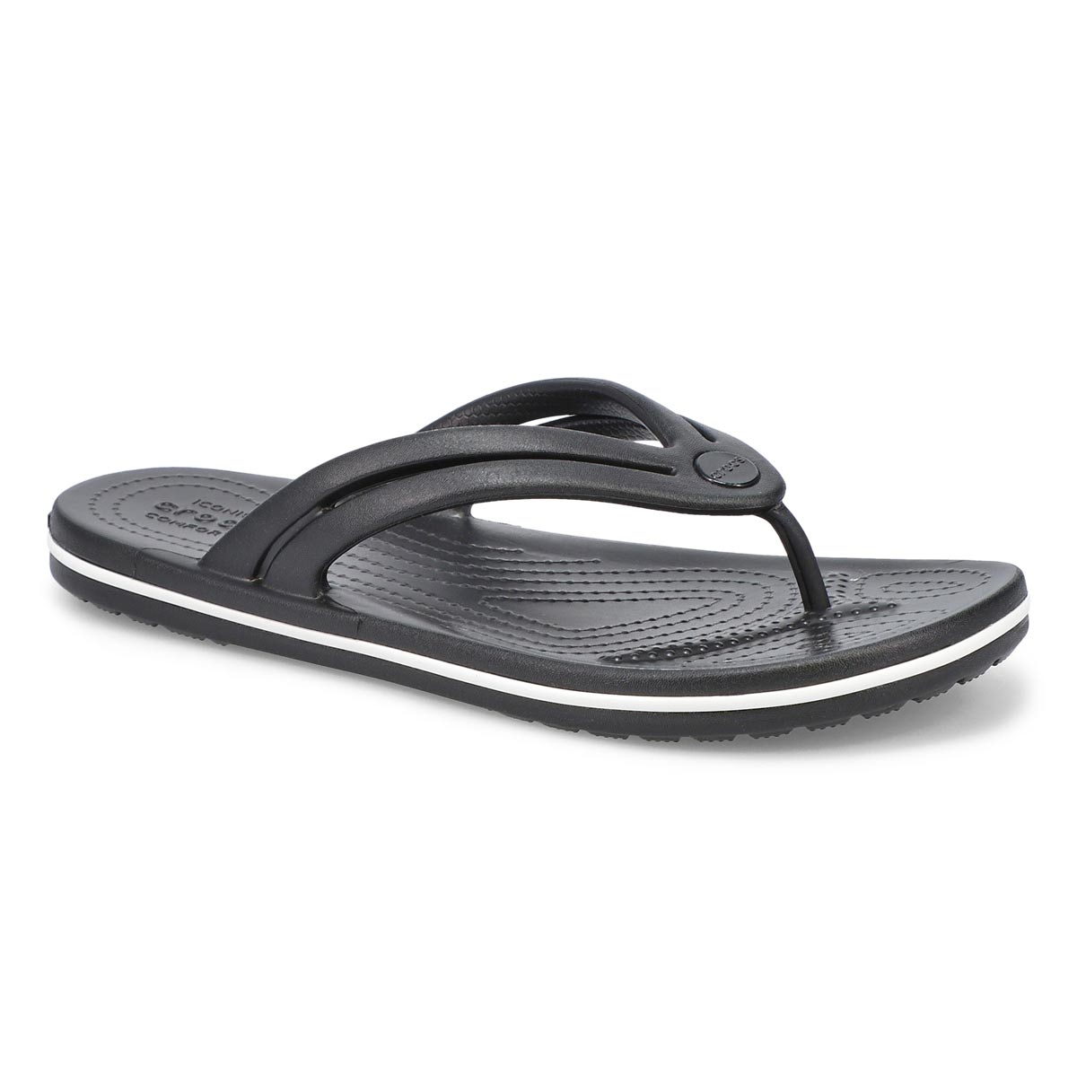 Women's Crocband Flip Sandal - Black