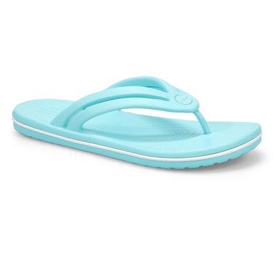Sandale tong Crocband Flip, femmes