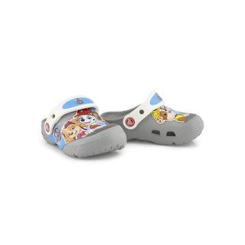 Kids' FUNLAB PAW PATROL light grey clogs