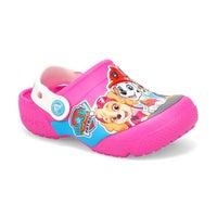Girls' FunLab Paw Patrol Clog - Electric Pink