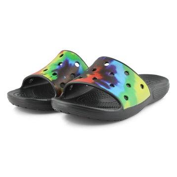 Women's Classic Crocs Tye Dye Slide Sandal - Multi
