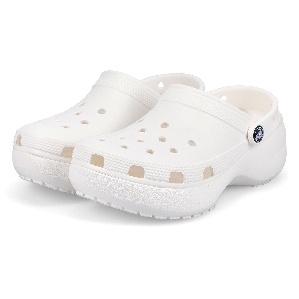 Women's Classic Platform EVA Clog - White
