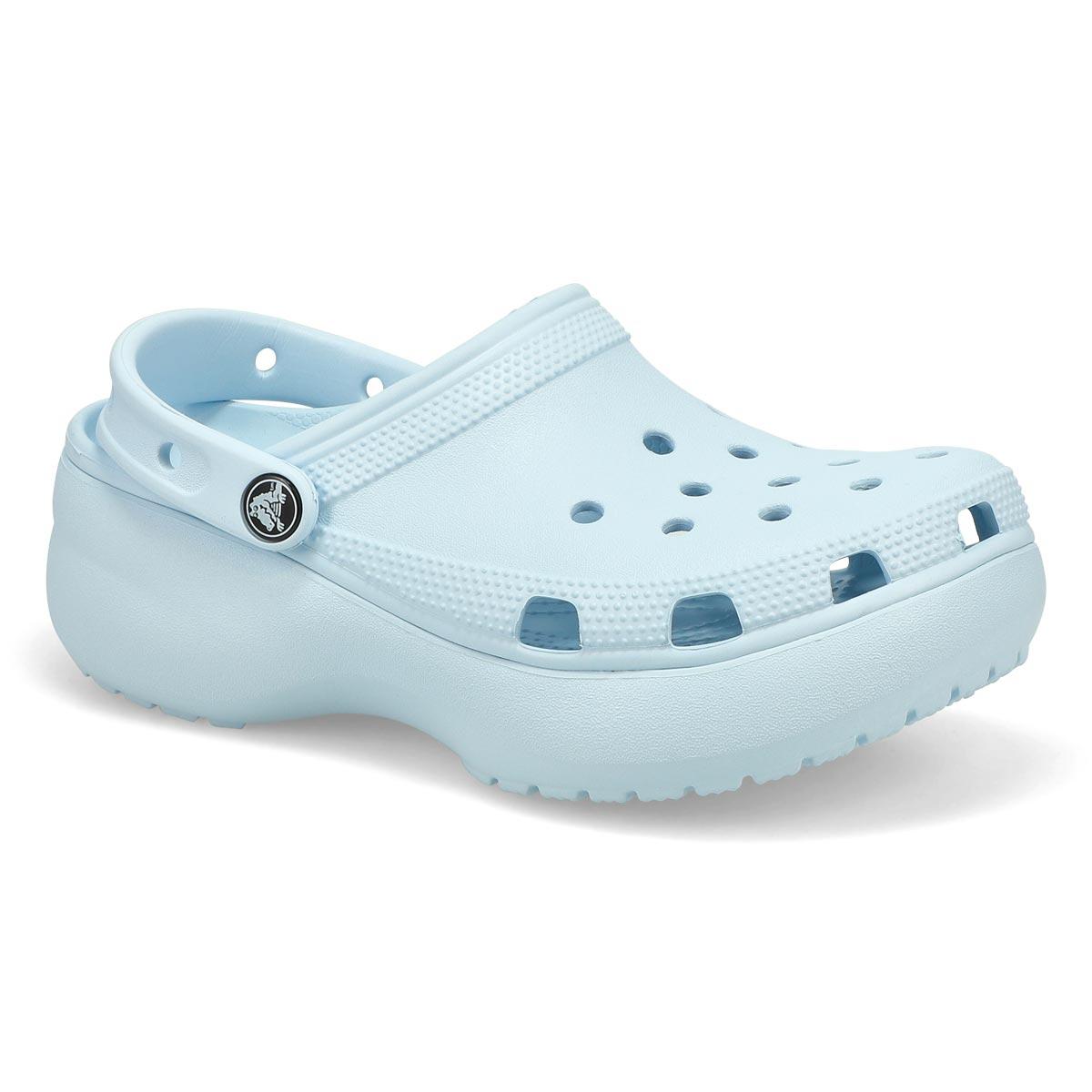Women's Classic Platform EVA Clog- Mineral Blue