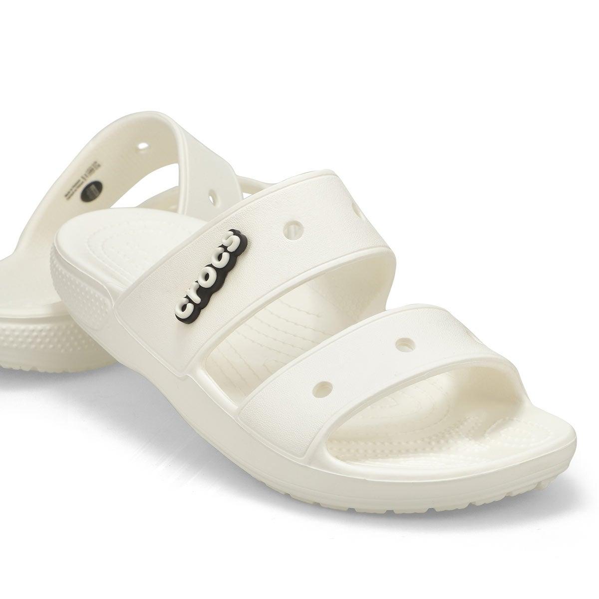 Sabot Classic Crocs Slide,blanc,femme