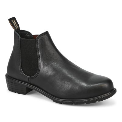 Lds The Ankle black pull on boot