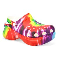 Women's Classic Bae Clog - Tye Dye Multi
